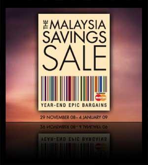 Malaysia Savings Sale