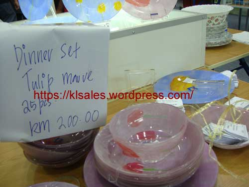 Luminarc Tableware Warehouse Sale