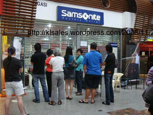 Samsonite Stock Clearance