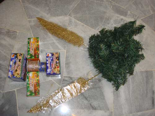 璀璨圣诞树装饰