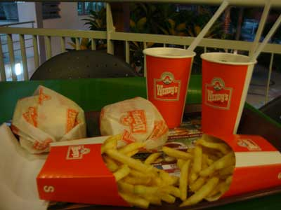 Wendy's在马来西亚